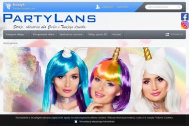 PartyLans - Wypożyczalnia strojów Warszawa