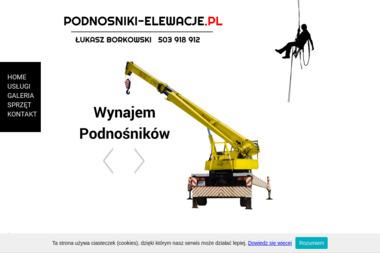 P.U.H.  ŁUKASZ BORKOWSKI - Odświeżanie Elewacji Szczecinek