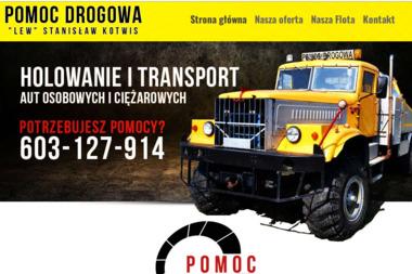 """POMOC DROGOWA """"LEW"""" - Wypożyczalnia samochodów Biłgoraj"""