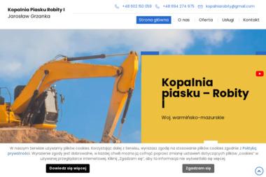 Robity I Kopalnia Piasku - Ziemia ogrodowa Pasłęk