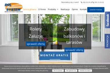Rol-System - Żaluzje, moskitiery Kraków