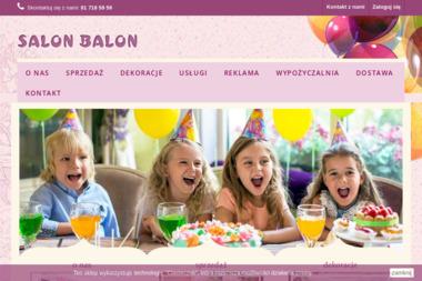SALON BALON - Balony z helem Lublin