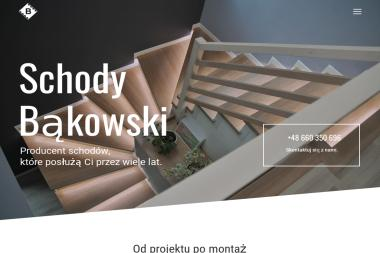 Schody Bąkowski - Balustrady drewniane Przeczyce