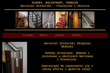 Warsztat Stolarski Zbigniew Obłuski - Balustrady drewniane Piaseczno