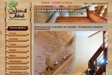 Oskar - Schody z Pasją - Balustrady Otmuchów