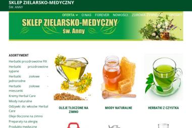 Sklep zielarsko-medyczny św. Anny - Miód Lędziny