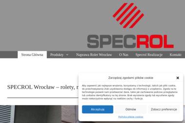 SPECROL Mirosław Mościcki - Rolety zewnętrzne Czerńczyce