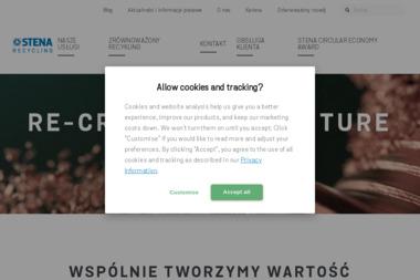 Stena Recycling - Przetwarzanie odpadów Bydgoszcz