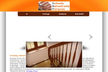 Schody Toruń - Balustrady drewniane Toruń