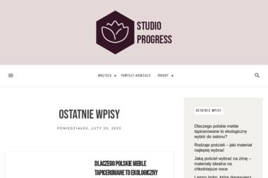Studio Progress - Wyposażenie łazienki Wrocław