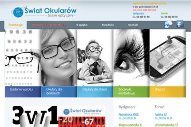 Świat Okularów - Okulista Toruń