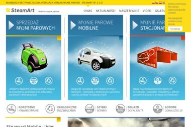 Mobilna Myjnia Parowa - Czyszczenie Tapicerki Samochodowej Sztum