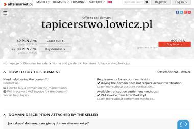 Tapicerstwo Michał Terenowicz - Tapicerstwo Łowicz