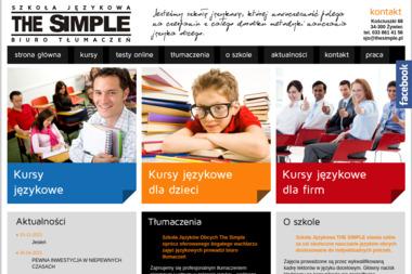 Szkoła Językowa - TheSimple - Szkoła językowa Żywiec