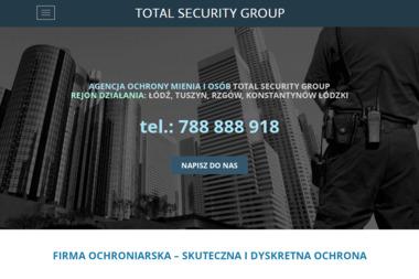 Total Security Group - Agencja ochrony Tuszyn