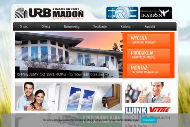 URB Madoń - okna pcv - Okna z PCV 32-660