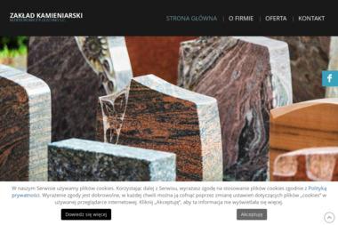 Zakład Kamieniarski M. Fiedorowicz P. Olechno - Nagrobki Nowa Wieś Ełcka