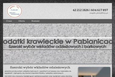 pphu maria - Krawiec Pabianice