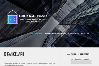 Kancelaria Rzeczoznawcy Majątkowego Emilia Kalinowska - Pomoc Prawna Wysokie Mazowieckie