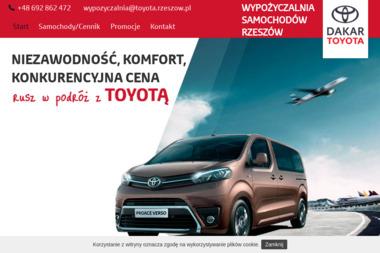 Dakar-Toyota Rzeszów Sp. z o.o. - Wynajem Samochodów Świlcza