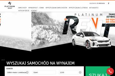 PLATINUM RENT - Wypożyczalnia samochodów Szczecin