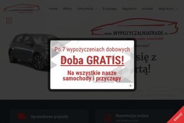 Wypożyczalnia samochodów TRADE - Wypożyczalnia samochodów Myślenice