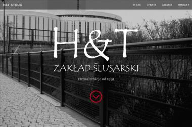 """Zakład Ślusarski """"H&T Strug"""" - Balustrady nierdzewne Brzoza"""