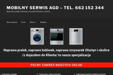 Mobilny Serwis AGD - Naprawa zmywarek Olsztyn