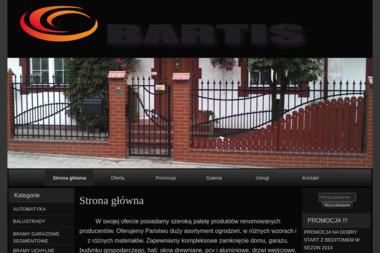 Bartis – Bartosz J. Pietraszko - Drzwi Garażowe Segmentowe Białystok