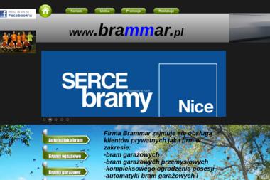 Brammar - Bramy Ogrodzeniowe Dwuskrzydłowe Gdynia