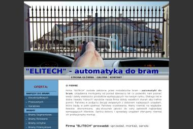 ELITECH - Bramy Segmentowe Piekoszów