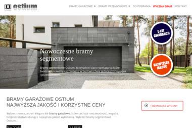 Bramy Garażowe Ostium - Bramy Garażowe Uchylne Łęczna