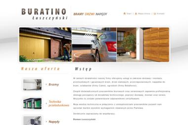 BURATINO - Bramy garażowe Częstochowa