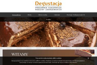 Zakład Ciastkarski Degustacja - Cukiernia Bełchatów