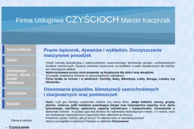 Firma Usługowa CZYŚCIOCH - Pralnia Samborowo
