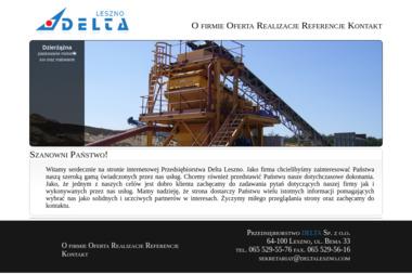 Przedsiębiorstwo Delta - Piaskowanie Leszno