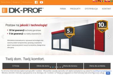 DK-PROF Sp. z o.o. - Bramy Garażowe Segmentowe Chełmiec
