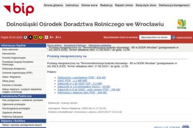 DODR - Montaż drzwi Wrocław
