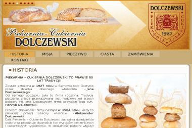 PIEKARNIA – CUKIERNIA ALEKSANDER DOLCZEWSKI - Cukiernia Gostyń