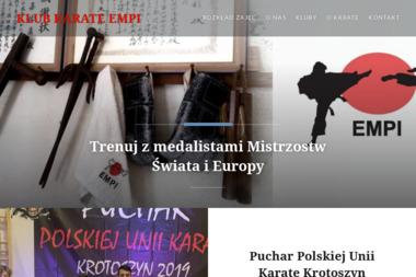 Kluby Karate EMPI - Sporty walki, treningi Przeźmierowo