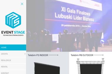 EVENTSTAGE Technika estradowa - Nagłośnienie, oświetlenie Szczecin