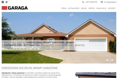 GARAGA - Bramy Garażowe Rolowane Szczecin