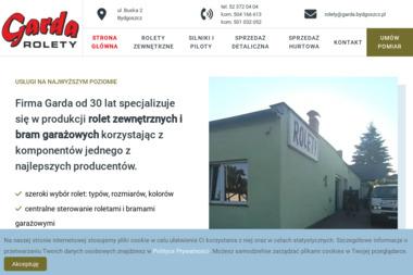 GARDA ROLETY - Bramy garażowe Bydgoszcz