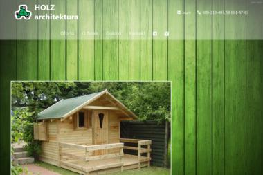 Holz-Architektura - Ogrodzenia drewniane Orle