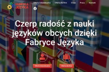 Fabryka Języka - Nauka Języka Włocławek
