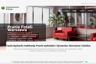Jeden Euro - Pranie Tapicerki - Pralnia Warszawa