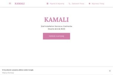 Kamali - Pranie Tapicerki Ciechanów