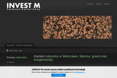 Invest M - Kamień Naturalny - Schody Wewnętrzne Piaseczno