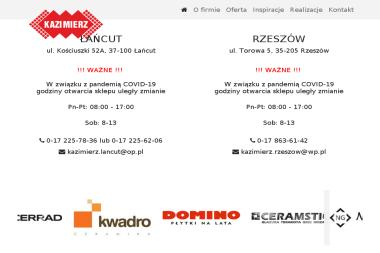 Kazimierz - Wyposażenie łazienki Rzeszów