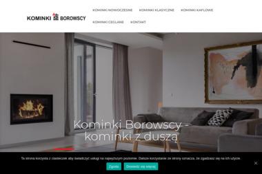 Kominki Borowscy - Kominki Ogrodowe Białystok